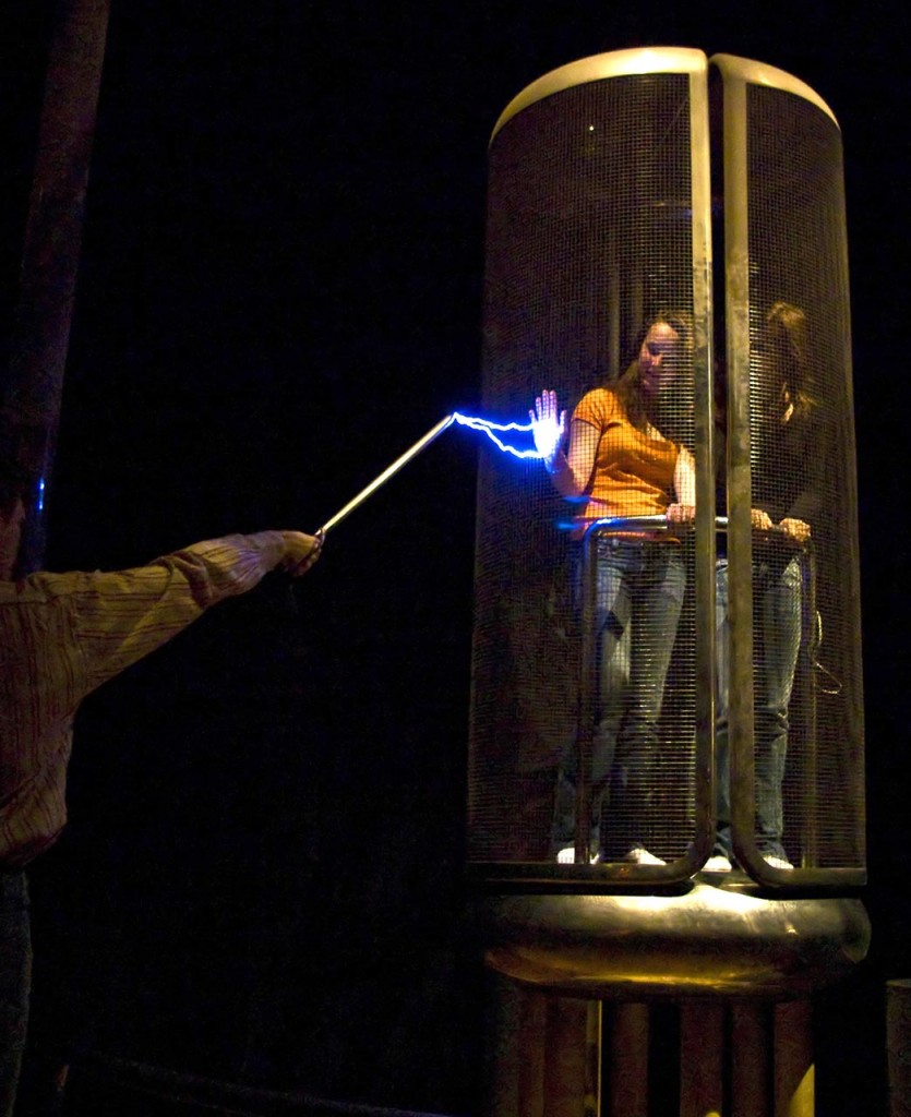 Image of a Faraday Cage